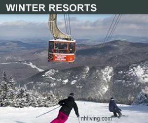 NH Ski Resorts Winter Vacation Lodging
