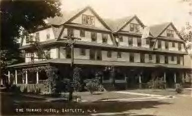 Howard Hotel Bartlett NH