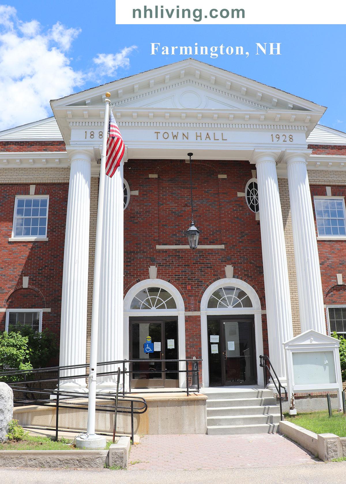 Farmington NH Town Hall